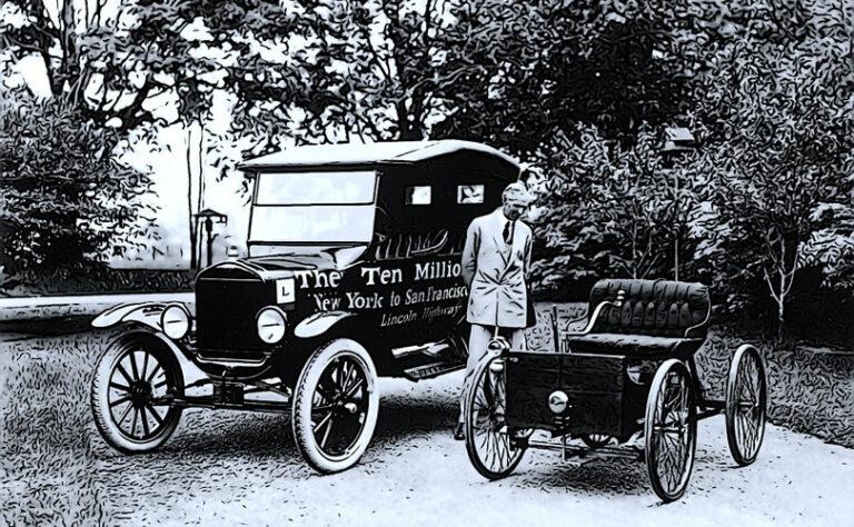 Avtomobil Henrya Forda, ki je zgrajen iz konoplje