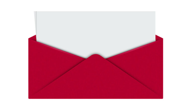 Manifestiranje z rdečo kuverto