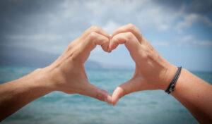 EV občutek in srce