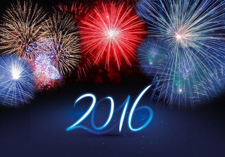 Moje najboljše želje tebi v letu 2016