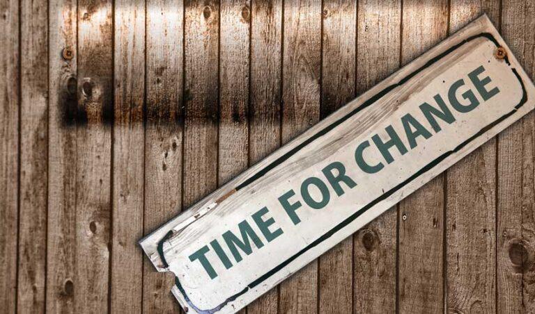 Kako najti pogum za spremembo?