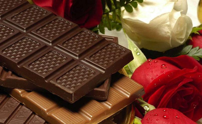 Čokolada in valentinovo