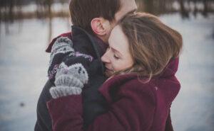 Objem, dotik, nasmeh